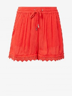 RELAXED LACE SHORTS logo