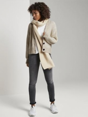 CARDIGAN WITH CONTRAST PLACKET logo