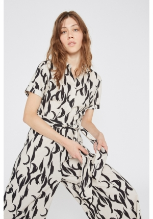 ABSTRACT JUMPSUIT logo