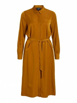 OBJEILEEN SHIRT DRESS SEASONAL logo