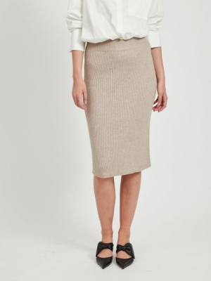 VIRIL KNIT HW PENCIL SKIRT FAV logo