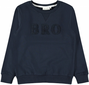 NKMNORMAL LS SWEAT BRU logo